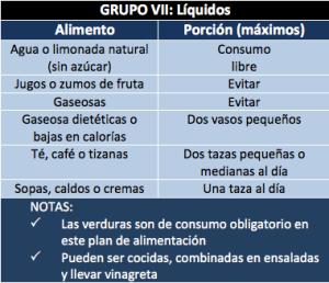 Grupo VII: Líquidos